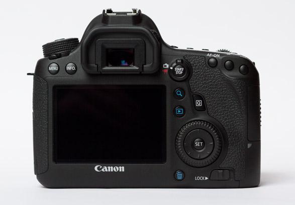Canon EOS 6D Rück-Ansicht