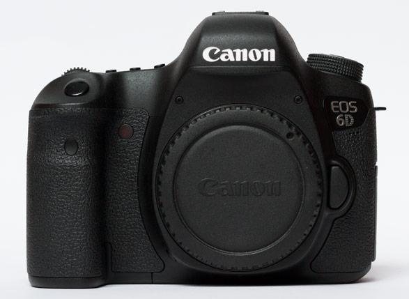 Canon EOS 6D Front-Ansicht