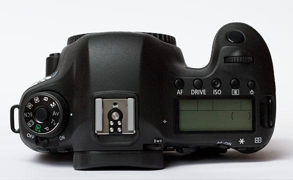 Canon EOS 6D Top Ansicht