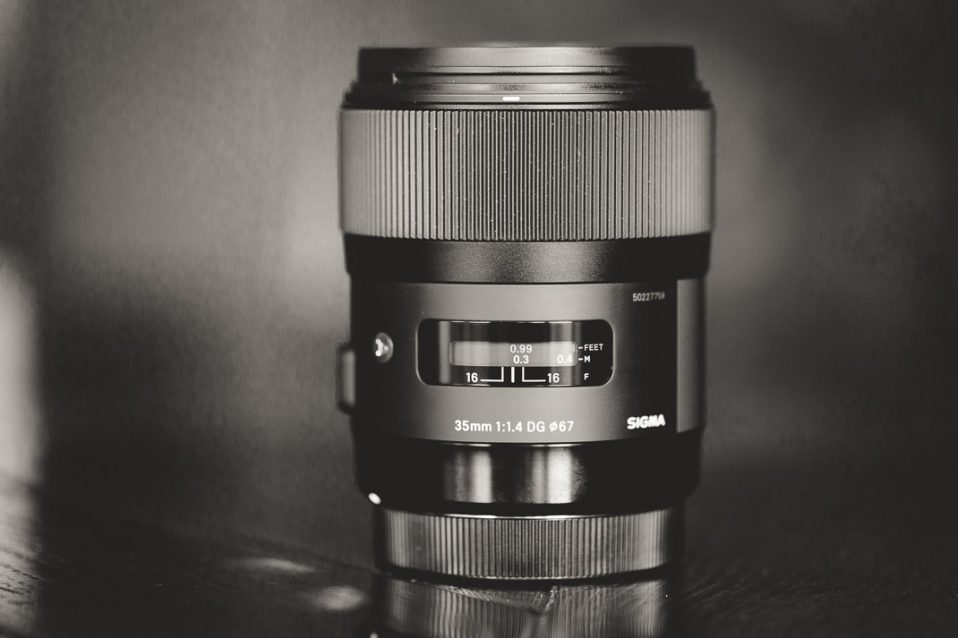 35mm Weitwinkelobjektiv von Sigma