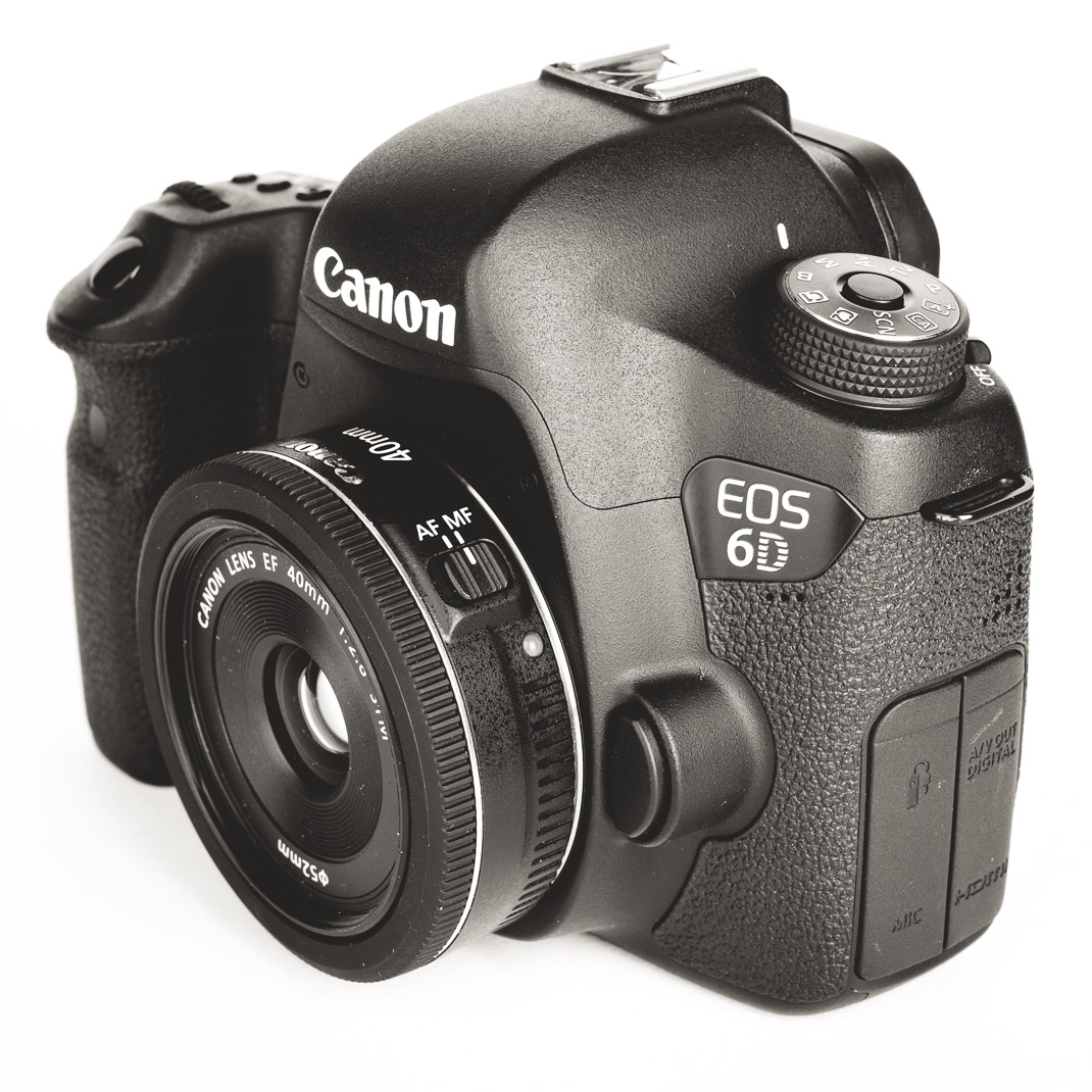 Canon EOS 6D mit EF 40mm f/2,8 STM Pancake