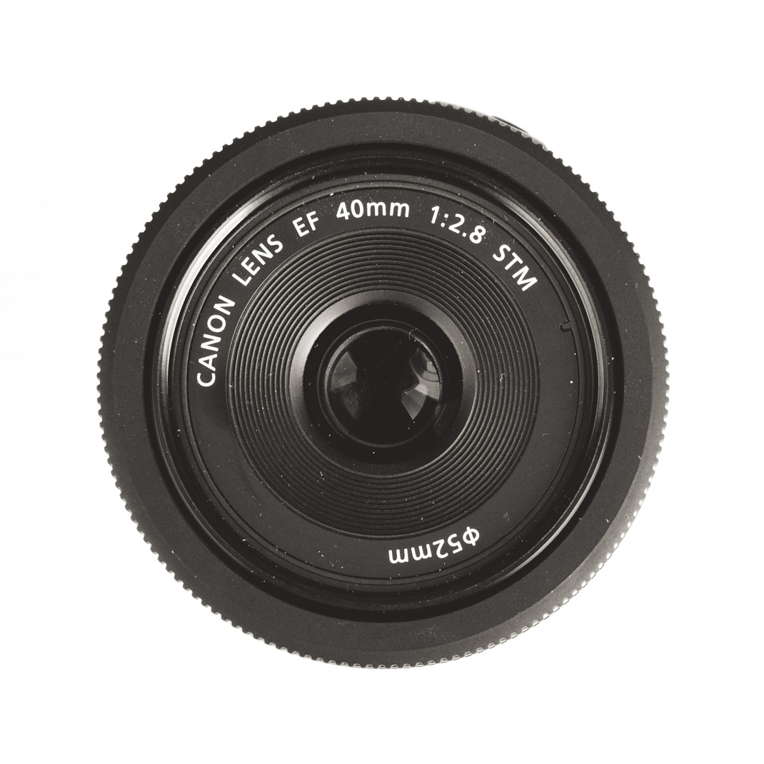 Canon EF 40mm f/2,8 STM Pancake von oben