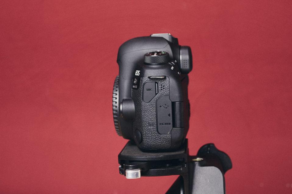 6D Mark II in der Seitenansicht