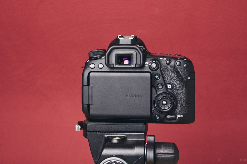 Canon EOS 6D Mark II Rückseite